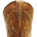 Men's Lucchese M1612.TWF Black Full Quill Ostrich