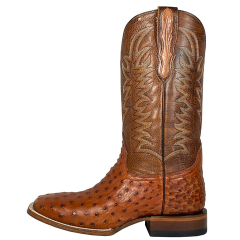 Stetson Coganc Full Quill Ostrich Square Toe