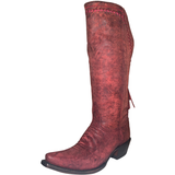 Ladies Lucchese M4909 Black Cherry Vera