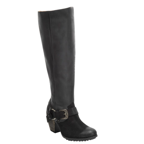 Ladies Corral Q0079 Black Harness Boot