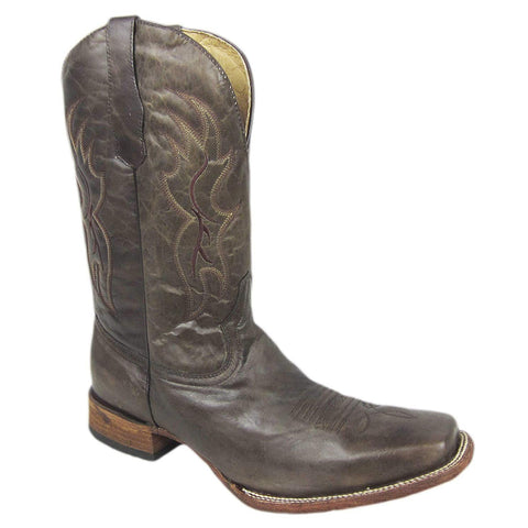 Men's Corral L5094 Tobacco Western Square Toe