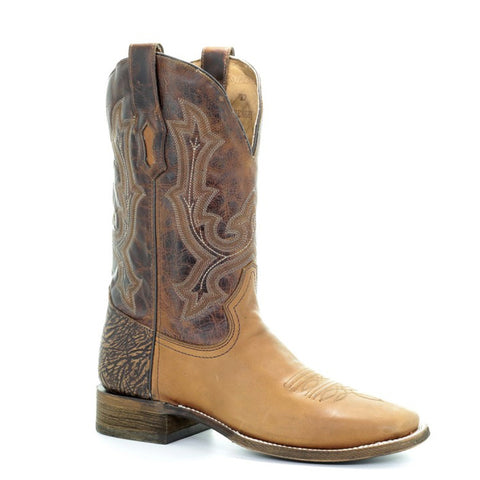 Men's Corral A3507 Tyson Golden Square toe