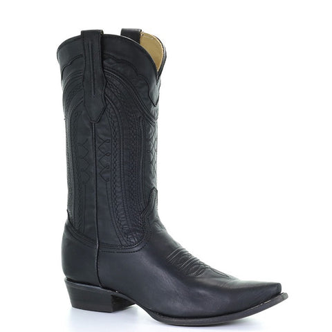Men's Corral C3068 Black Luke