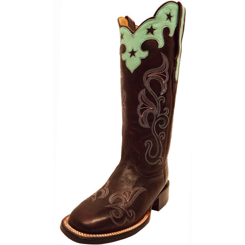 Ladies Lucchese M4912 Burgundy Jenna