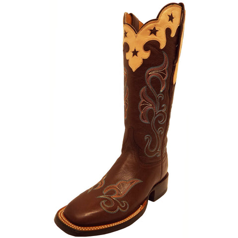 Ladies Lucchese M4914 Whiskey Brown Jenna