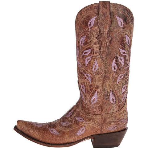 Ladies Lucchese M4867 Chocolate Veronica