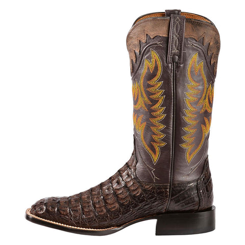 Lucchese M4549 Barrel Brown Hornback