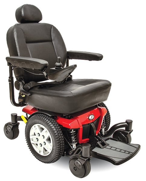 Pride Jazzy 600 ES Power Wheelchair - Low Price Guarantee - We will meet or beat any online price - Medpile.com