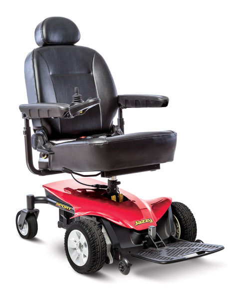Pride Jazzy Sport Portable Wheelchair - Low Price Guarantee - We will meet or beat any online price - Medpile.com
