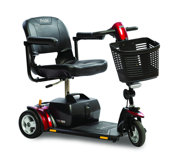 Pride Mobility 3 Wheel Go-Go LX with CTS Scooter - perfect for that person on the go