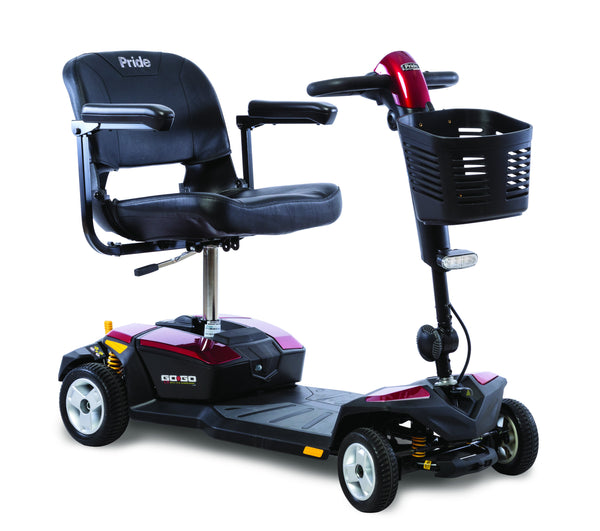 Pride Mobility 4 Wheel Go-Go LX with CTS Scooter - perfect for that person on the go