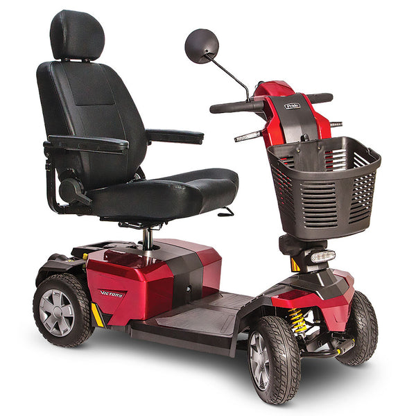Victory 10 LX with CTS Mobility Scooter - Candy Apple Red - Medpile.com low price guarantee - FREE Shipping