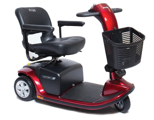 Pride Mobility Victory 9 3 Wheel Scooter - perfect for that person on the go