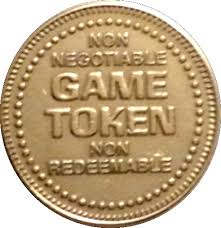 Arcade Tokens - 4 for $1.00