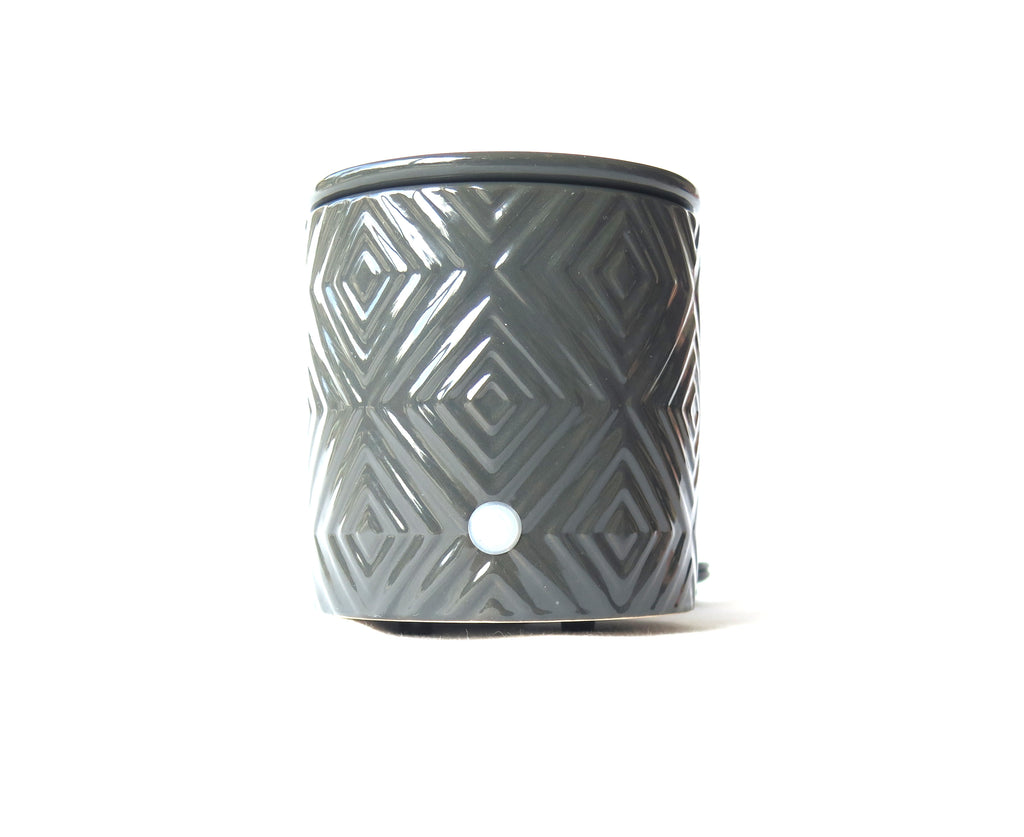 Charcoal grey scent warmer