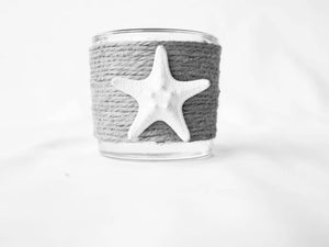 White Knobby Starfish Scent Holder