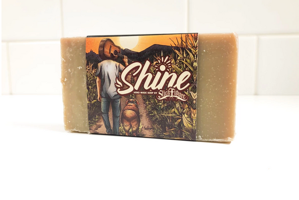 SINGING IN THE SHOWER! NATURAL SOAP COMPANY 'RAD' SHINES WITH 'STICK FIGURE'