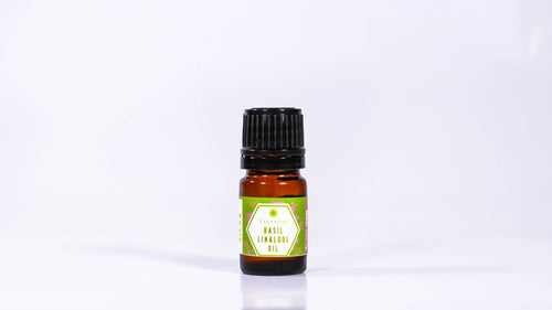 Basil Linalool Essential Oil -  0.17oz