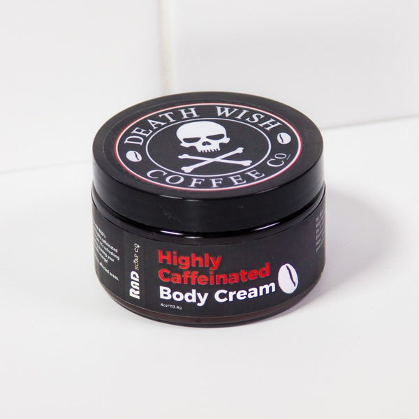 Death Wish Highly Caffeinated Body Cream