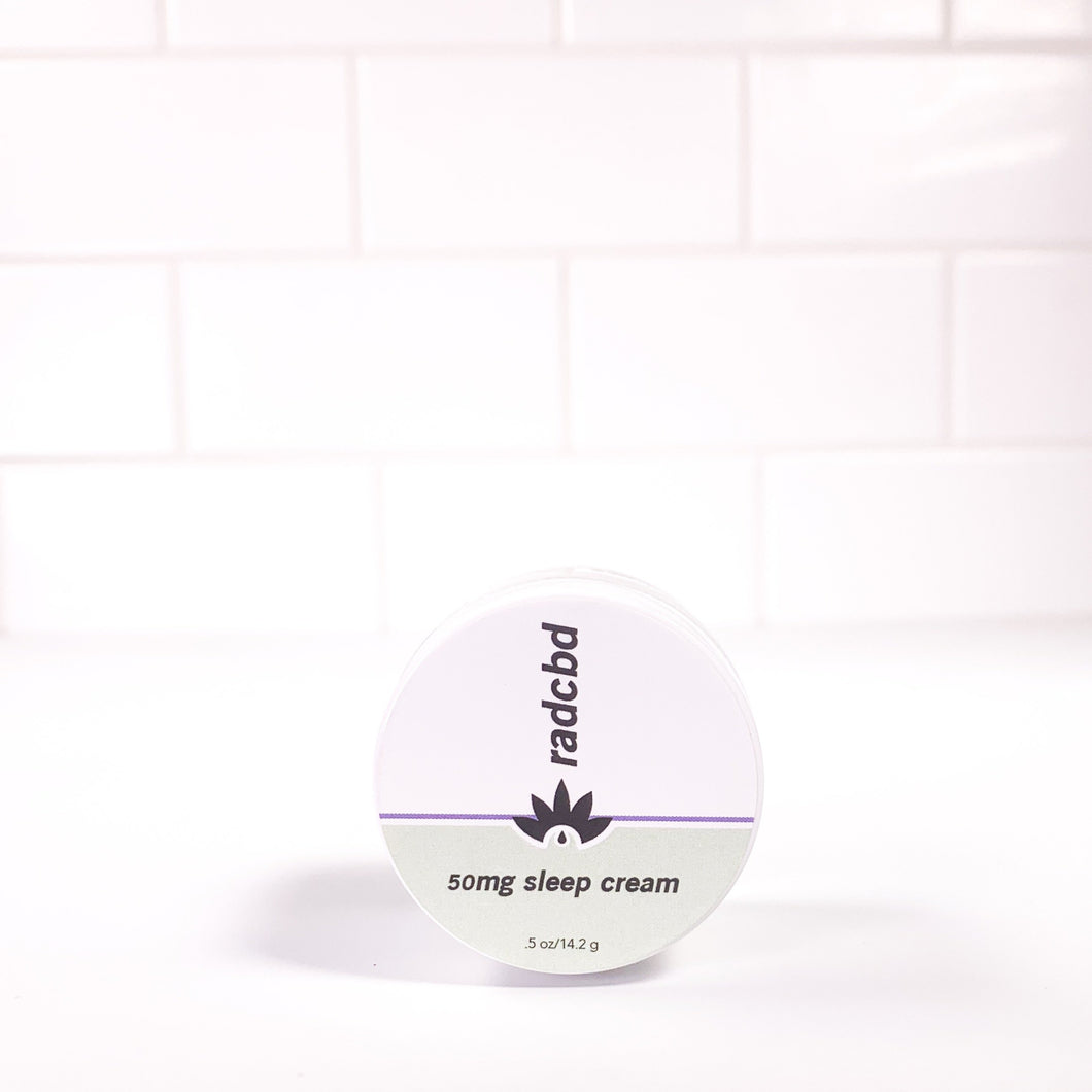 SLEEP CREAM (FULL SPECTRUM HEMP EXTRACT 50MG)