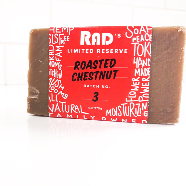 Roasted Chestnut Bar Soap (Nov.- Dec.)
