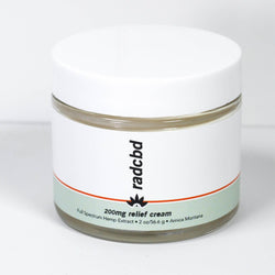 Relief Cream (Full Spectrum Hemp Extract 200mg)