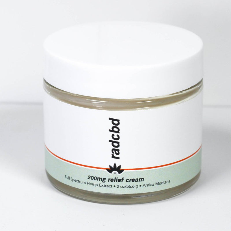 Relief Body Cream (Full Spectrum Hemp Extract 200mg)