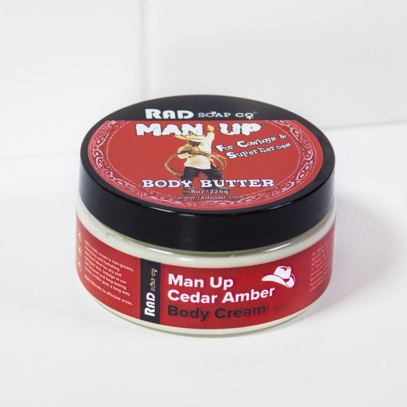 Man Up Body Butter