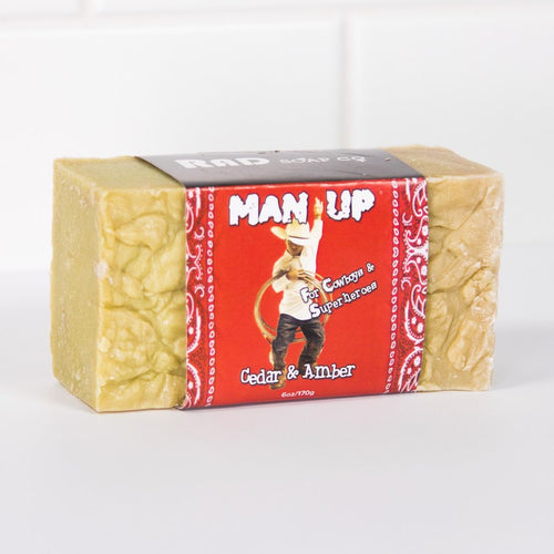 Man Up Natural Body Bar