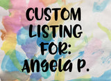 Custom Listing for Angela P (New Haven Badge)