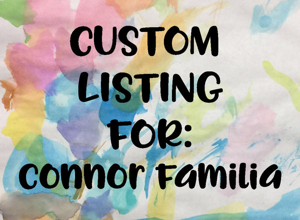Custom Listing for Connor Familia (Woman - Brimmed hat)