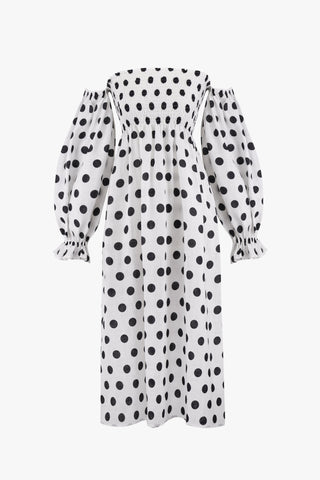 Daily Sleeper Atlanta Dress Polka Dot
