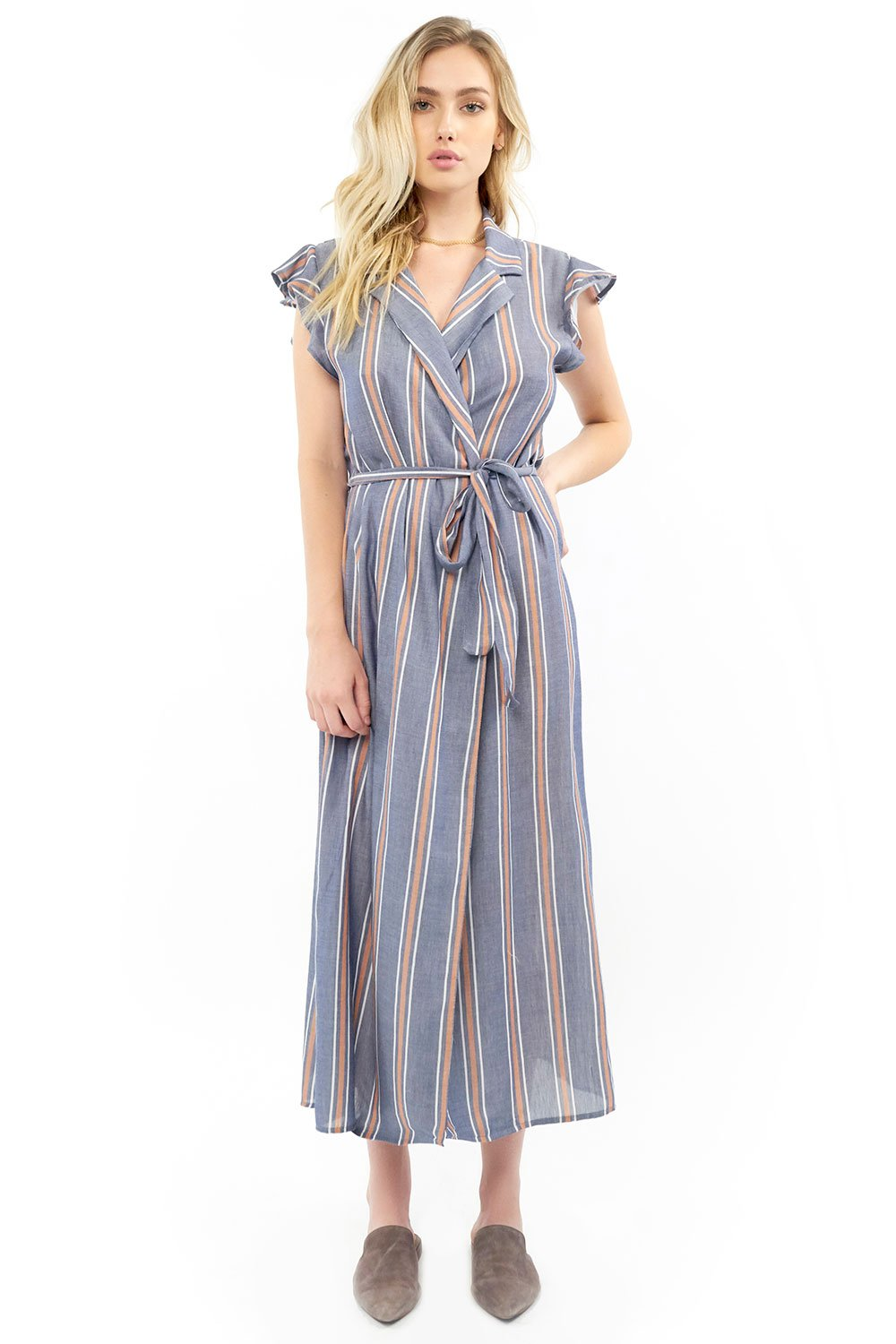 Reese Maxi Wrap Dress -Saltwater Luxe