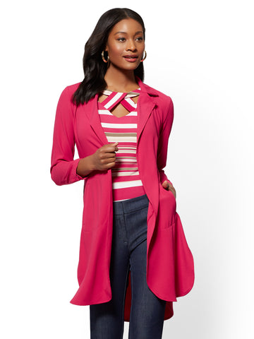 7th Avenue - Magenta Jacket in Flowering Magenta