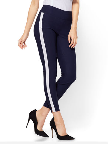 7th Avenue Pant - High-Waist Pull-On Ankle - Ultra Stretch - Navy in Grand Sapphire