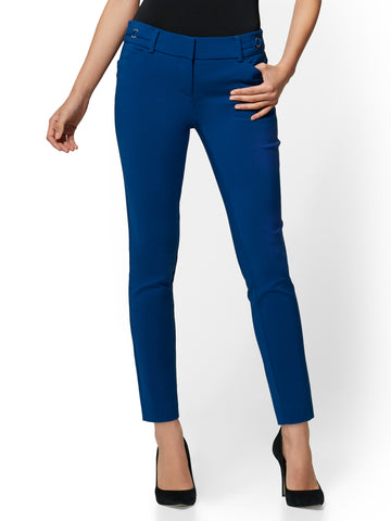 7th Avenue Pant - Slim-Leg Ankle in Adriatic Royal