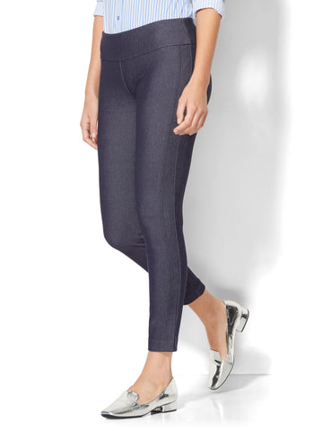 7th Avenue Pant - Pull-On Ankle in Navy