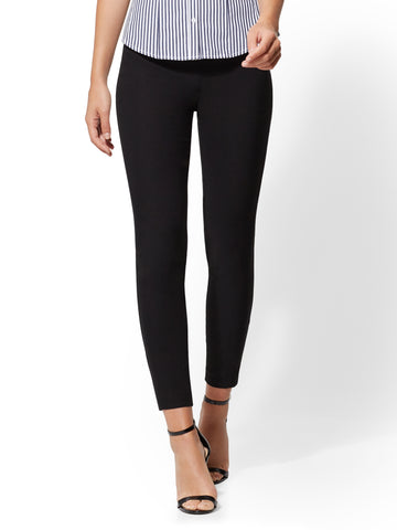 7th Avenue Pant - High-Waist Ankle - Ultra Stretch in Black
