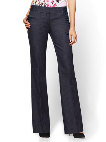 7th Avenue Pant - Bootcut - Modern in Hidden Blue