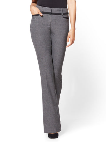 7th Avenue Pant - Bootcut - Modern - Heather Grey