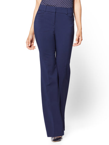 7th Avenue Pant - Bootcut - Signature in Grand Sapphire