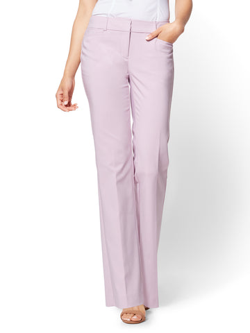 7th Avenue Pant - Bootcut - Signature in Cool Lavender
