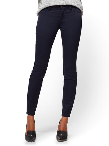 The Crosby Pant - Slim-Leg in Rich Navy