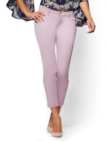 Crosby Pant - Slim-Leg Ankle in Dreamy Lilac