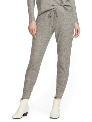 Soho Street - Ribbed Jogger Pant in Granite Dust Heather Scs