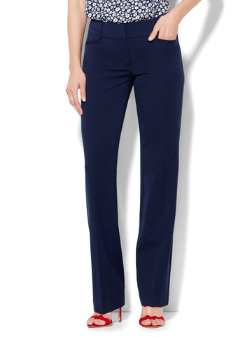 7th Avenue Pant - Straight Leg - Signature - SuperStretch in Grand Sapphire