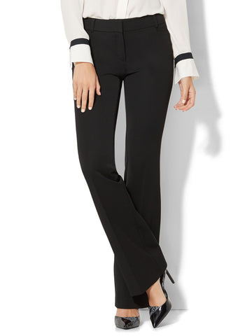 7th Avenue Pant - Bootcut - Modern - SuperStretch in Black