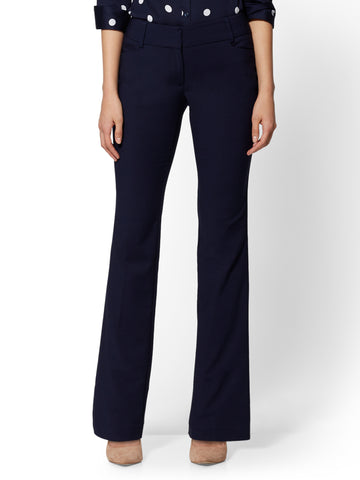 7th Avenue Pant - Curvy Bootcut - Stretch in Grand Sapphire