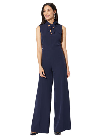 Palazzo Jumpsuit in Grand Sapphire