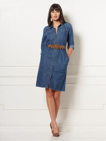 Oakley Shirtdress - Eva Mendes Collection in Medium Indigo